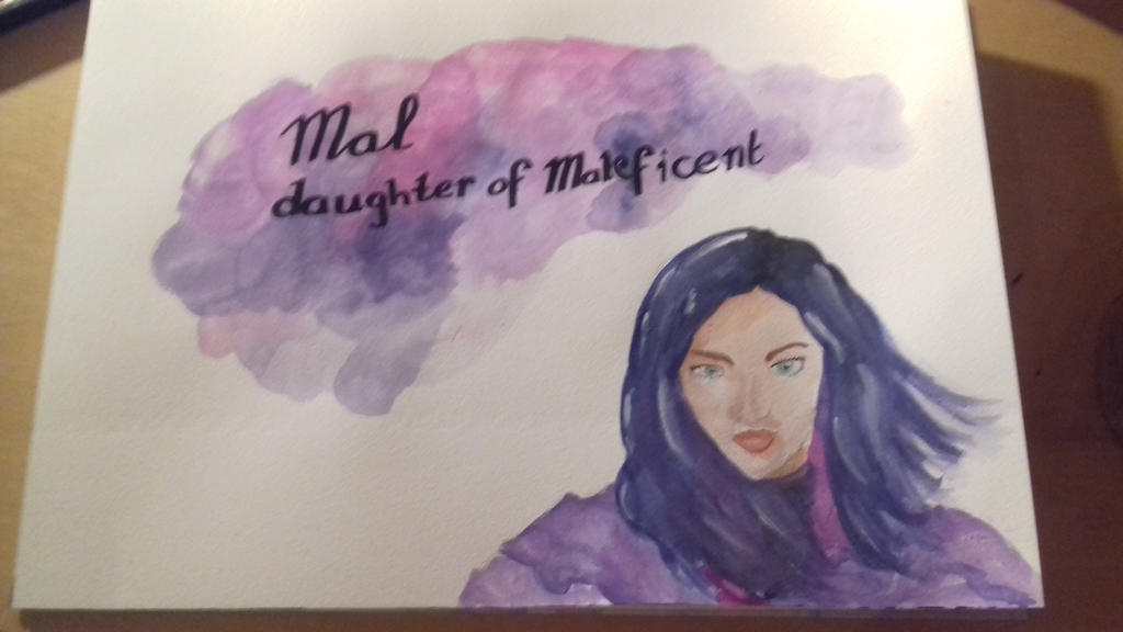 Mal daughter of Maleficent by Rho96