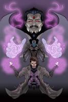 X-MEN Gambit Archangel Mr Sinister by ArtOfIDAN
