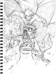 Gambit and Moonknight commission