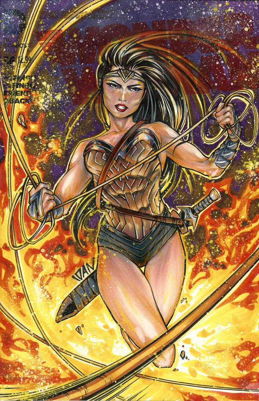 WonderWoman by ArtOfIDAN
