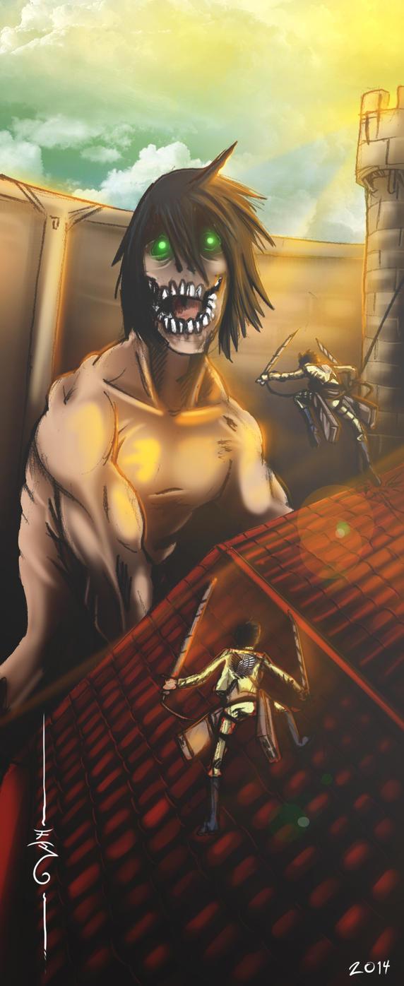 Attack on Titan by Decobatta