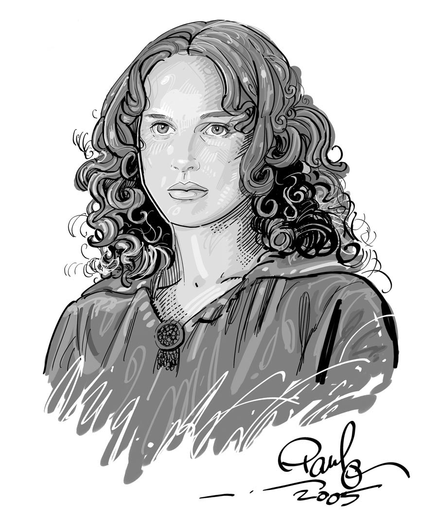 Natalie Portman Portrait by PauloDuqueFrade