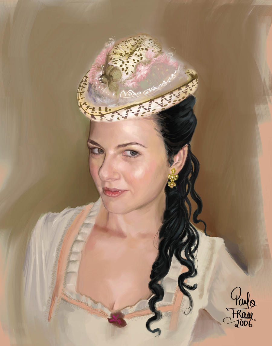 Talita Castro Portrait by PauloDuqueFrade