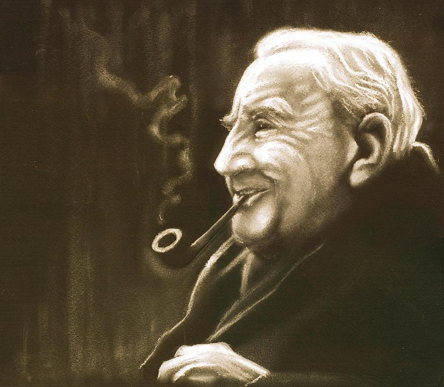 J. R. R. Tolkien  Portrait by PauloDuqueFrade