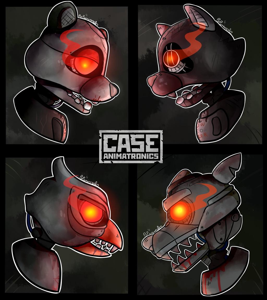 CASE:Animatronics By PopAnimals On DeviantArt