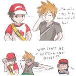 Pokemon SM: Age mystery