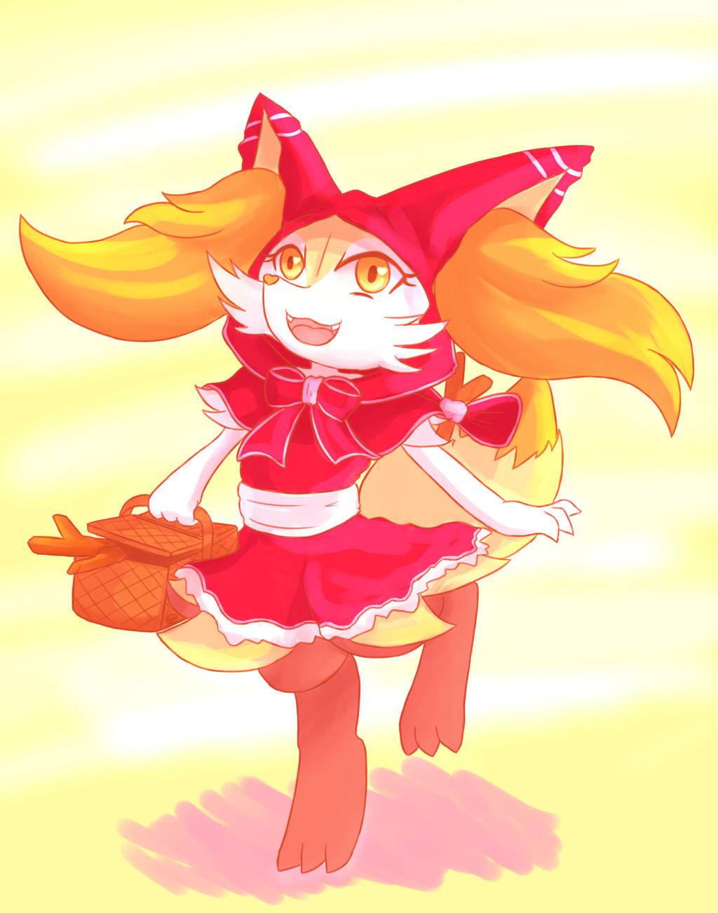 Little red riding Braixen by unknownlifeform