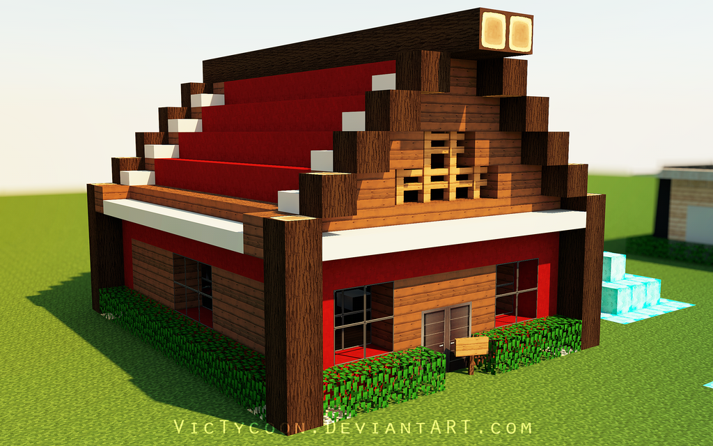 Minecraft construction 4 by victycoon on deviantart - Video minecraft construction ...
