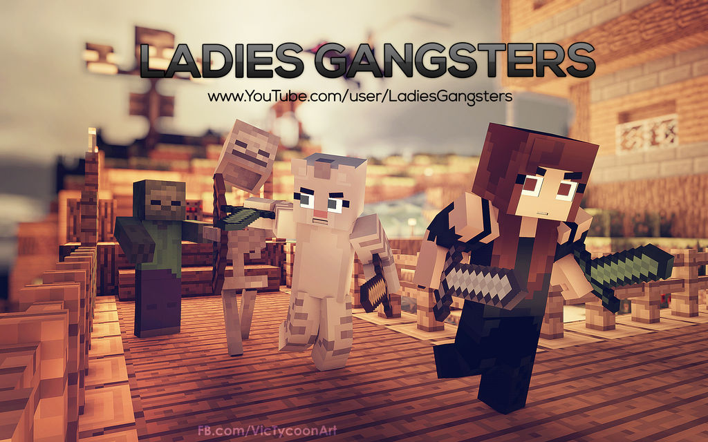 Ladies Gangsters by VicTycoon