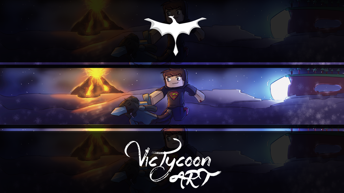 Youtube Banner For NerD_PlayBR By VicTycoon On DeviantArt