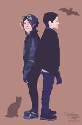 Selina and Bruce