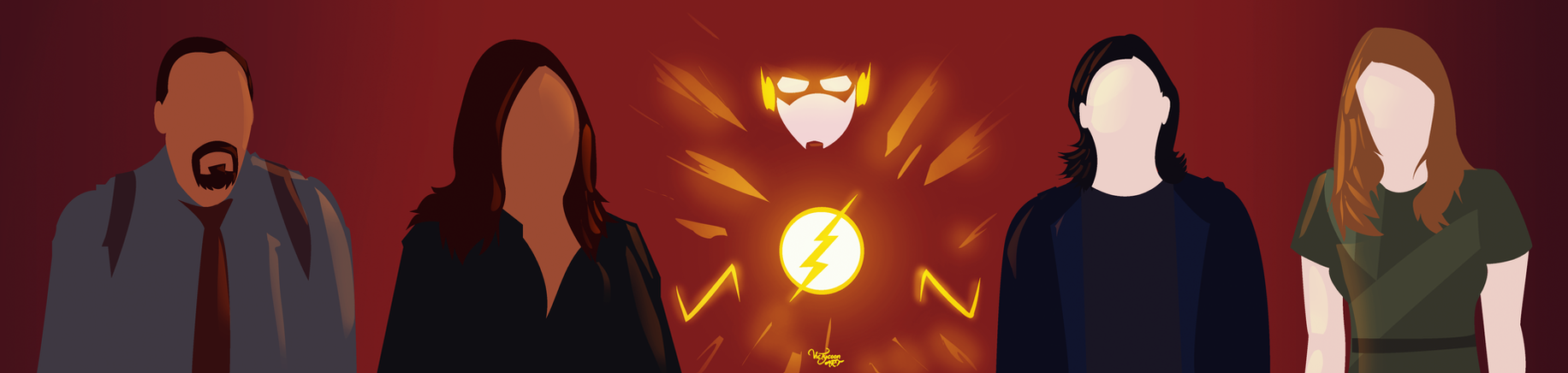 The Flash Team by VicTycoon