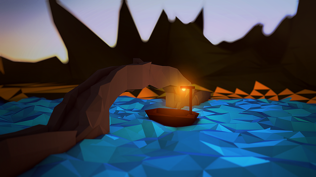 Low Poly - Boat by VicTycoon