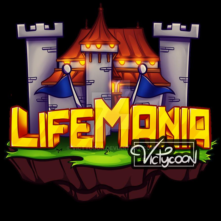 Logo lifemania minecraft server by victycoon on deviantart - Pokemon logo minecraft ...