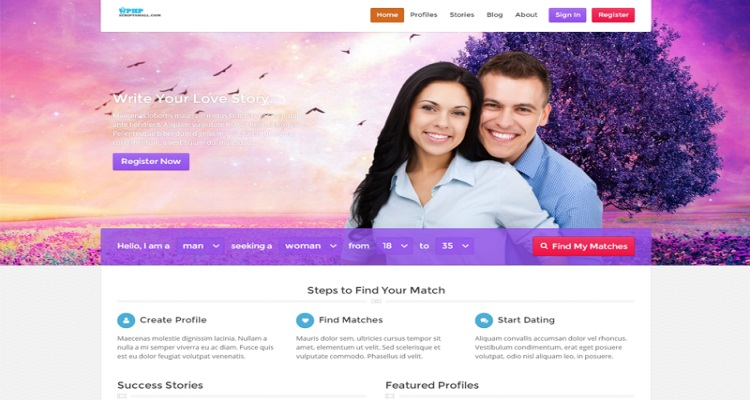 Dating site source