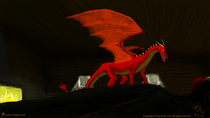 Redin's dragon by xTernal7