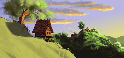 The Cottage [Speedpaint]
