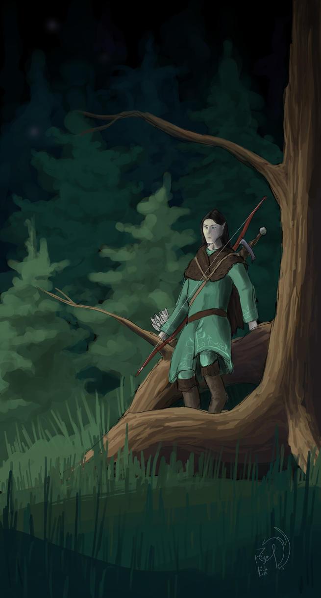 Elven hunter by xTernal7