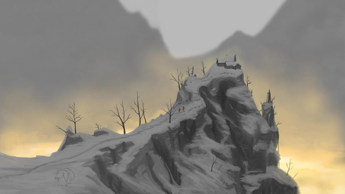 Desolate Peak by xTernal7