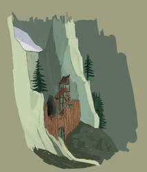 Cave outpost