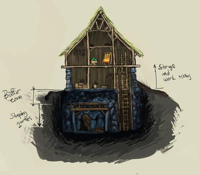 House - sketch