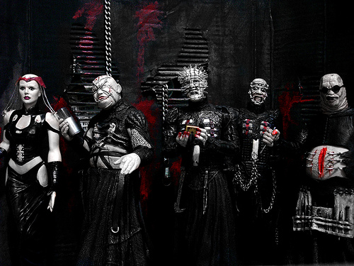 Hellraiser Figures by Samello on DeviantArt