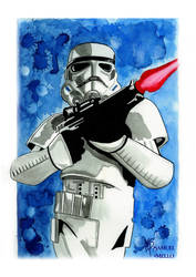 The Stormtrooper by Samello