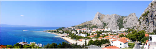 Omis - panoramic