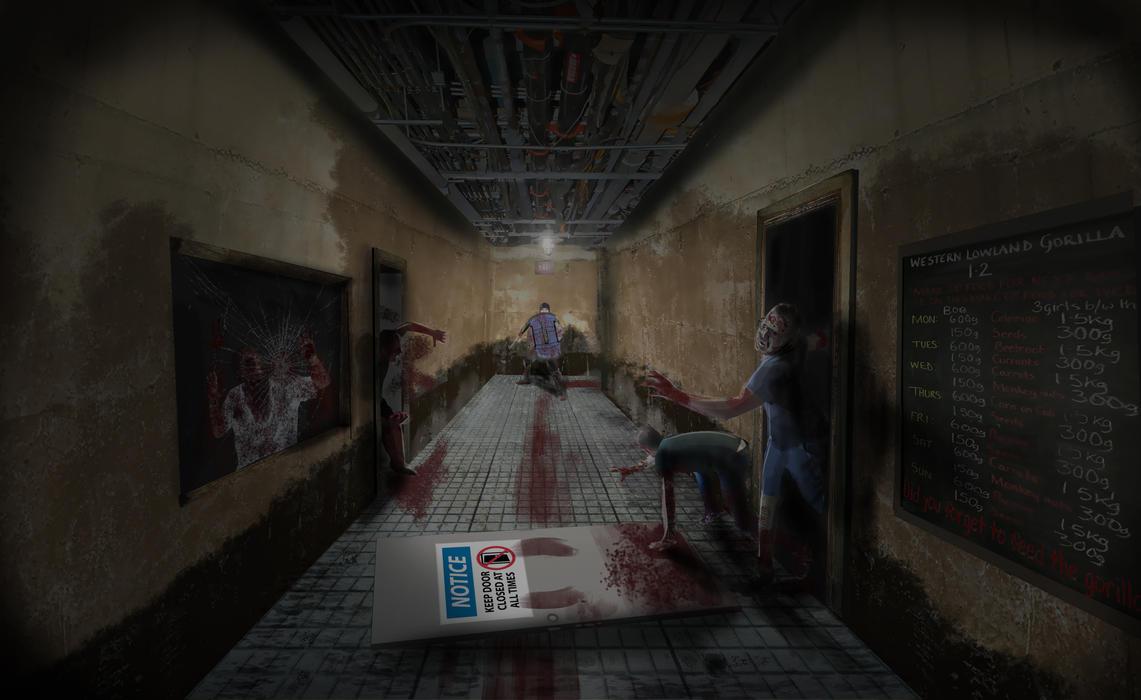 Z hallway by Nekanav