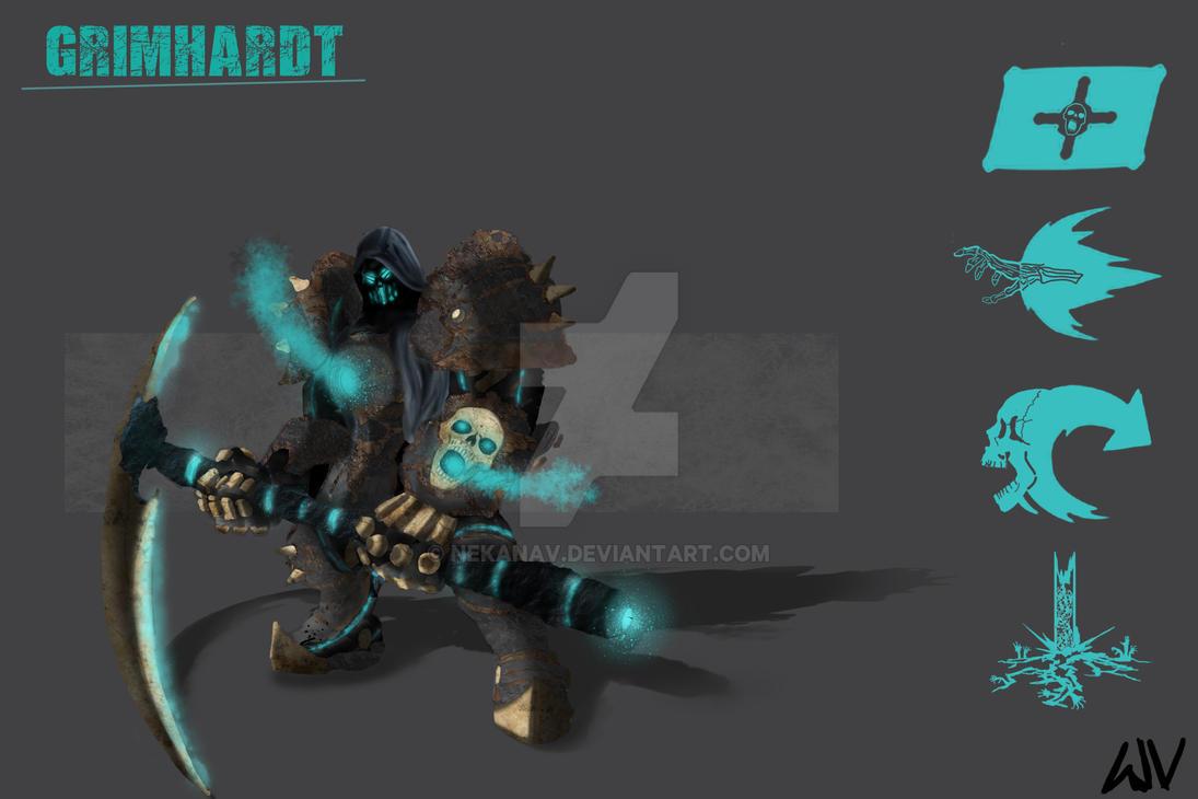 Grim Reaper Reinhardt aka GrimHardt by Nekanav