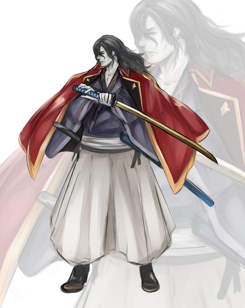 Vampire Samurai by jenovasung