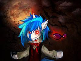 Say 'Hi' to vampire by CruelSeptember