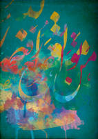 Arabic Calligraphy III by zArtandDesign
