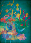 Arabic Calligraphy III by zArtandDesign