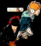 Renji and Ichigo