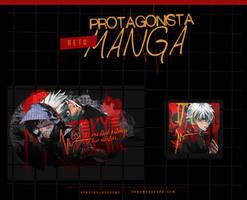 Reto : Protagonista Manga by Jinjiro-Higuchi