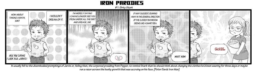 IronParodies 01 - Dirty Stark by okamioujou