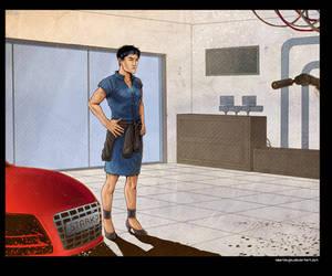 IM: Dress code - Tony Stark 2 by okamioujou