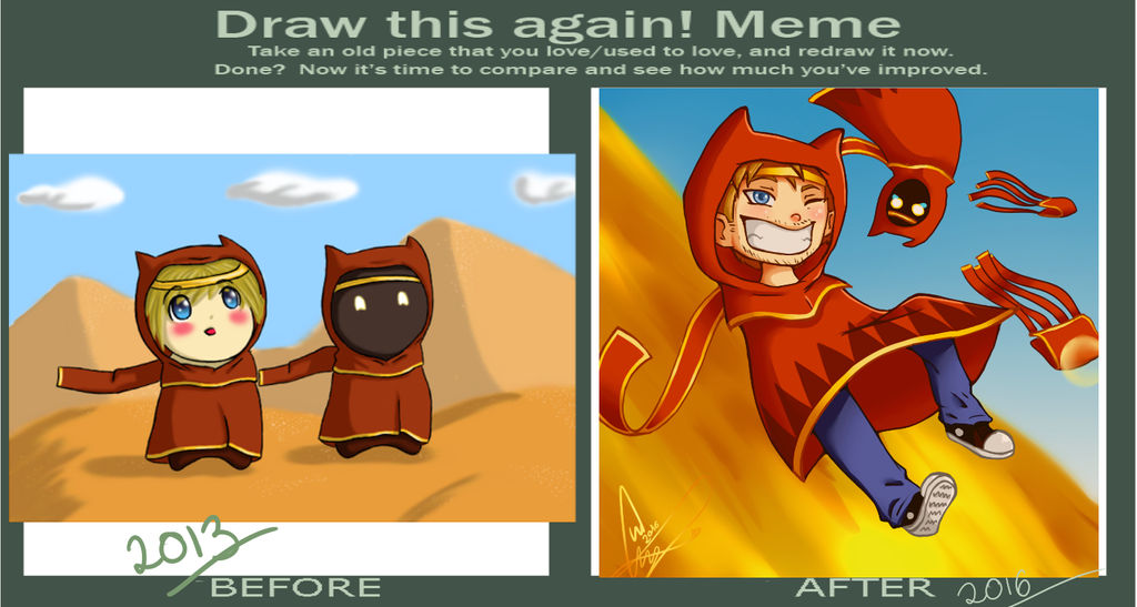Before and After Meme - PewDiePie Journey by Tokachika-chan