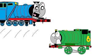 Gordon pounces on Percy