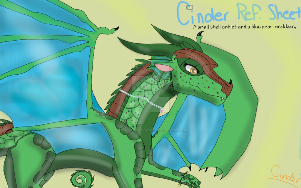 Updated Cinder ref. by CindertheRainMudwing