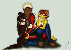 Young Justice_ BigBro Aqualad by NoahWhite
