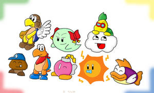 Paper Mario Partners by Not-WisqoXD