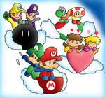 Mario Kart Sled Dash