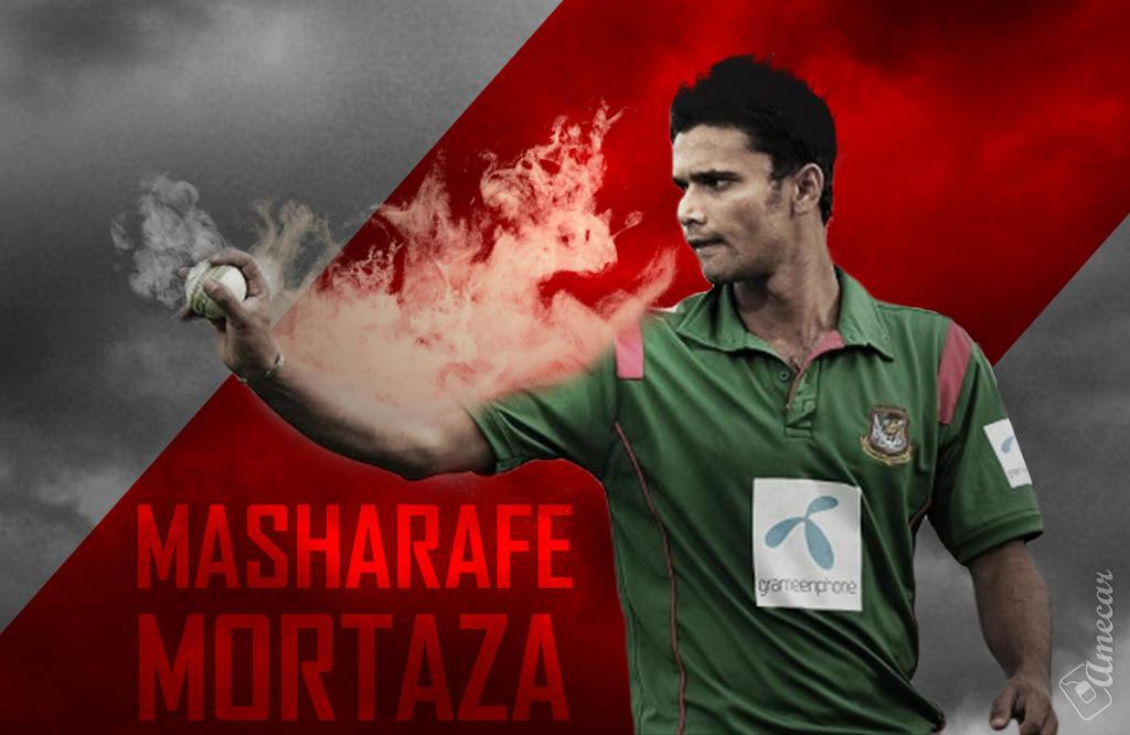 Mashrafe Bin Mortaza Wallpaper by fahimed