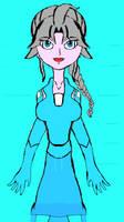 Anime disney frozen 2 Elsa concept drawing