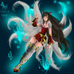 Ahri League of Legend request for my friend