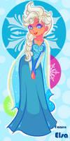 Frozen Elsa sweet snow aww