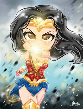 Wonder Woman Chibi