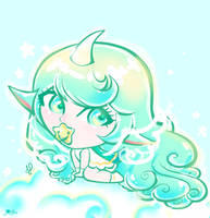Star Guardian Baby Soraka by JamilSC11